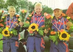 Kars Valkema, Andries Jensma en Enno Kingma